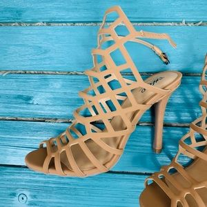 Mossimo NWOT Kylea Caged Heels